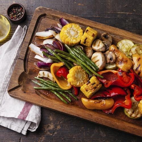 FRITEL GR2275 étel életkép grillzöldségek