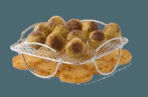 Fritel grill rács SnackTastic olaj nélküli sütőhöz